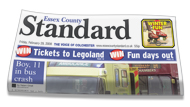 Clacton and Frinton Gazette: Essex County Standard