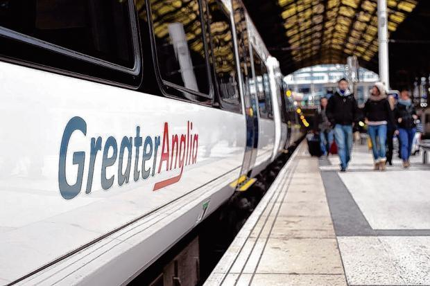 Busy - major works will be carried out over Christmas period which will affect Greater Anglia trains