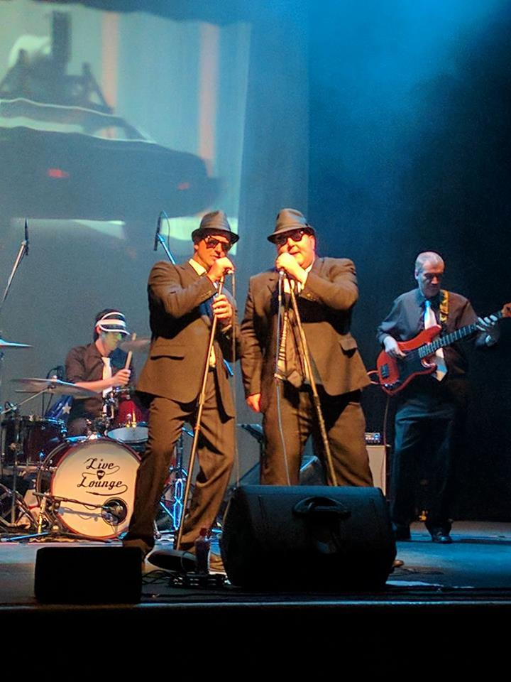Richard Alcock and Ritchie Hicks star in Committed to the Blues Brothers