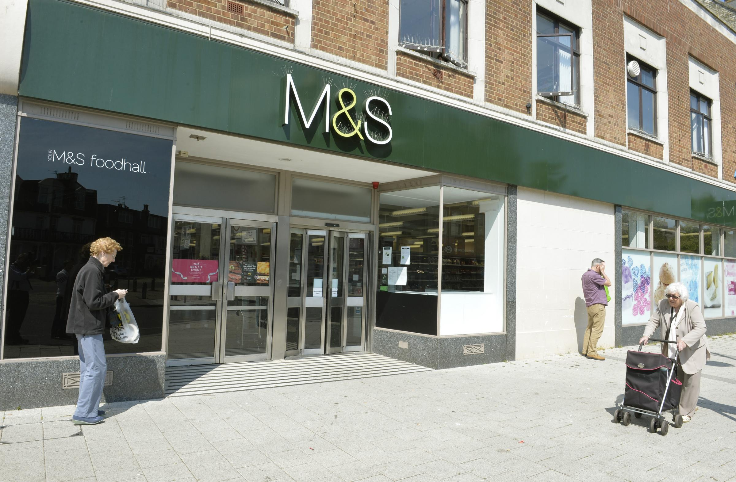 Set to close: Marks and Spencer will be closing its store in Clacton next year