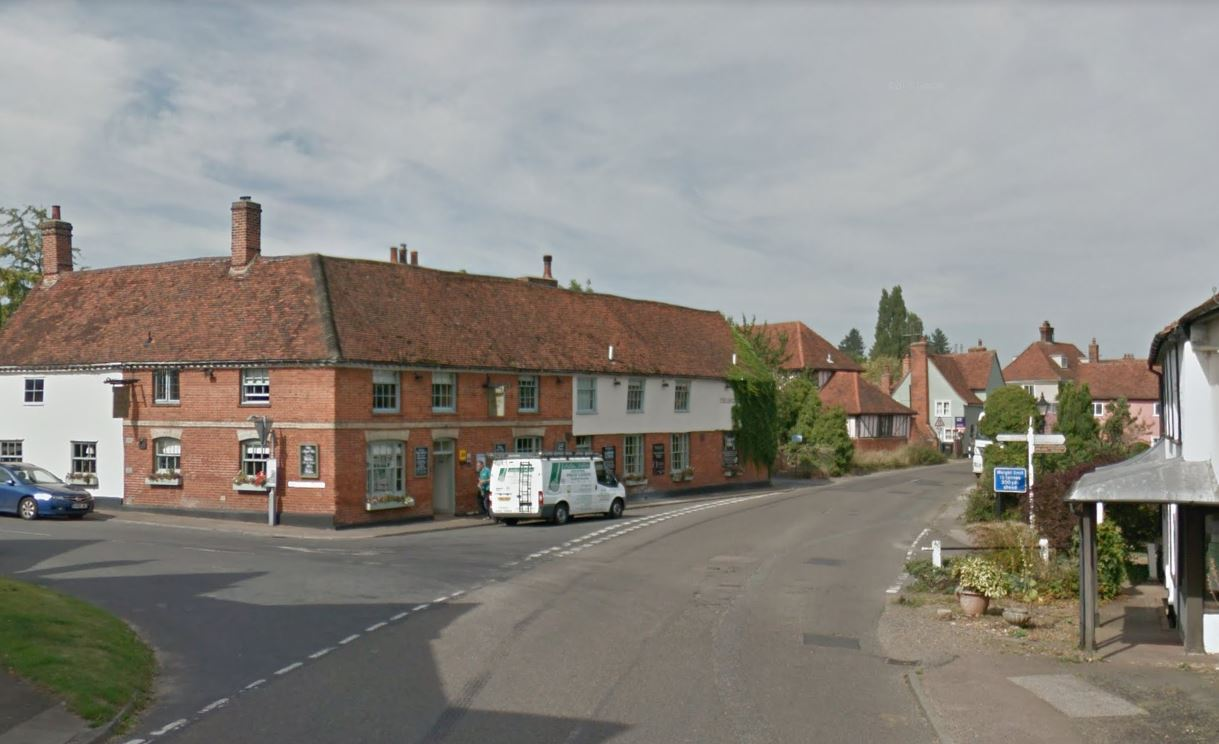 Stoke-by-Nayland. Image: Google Street View