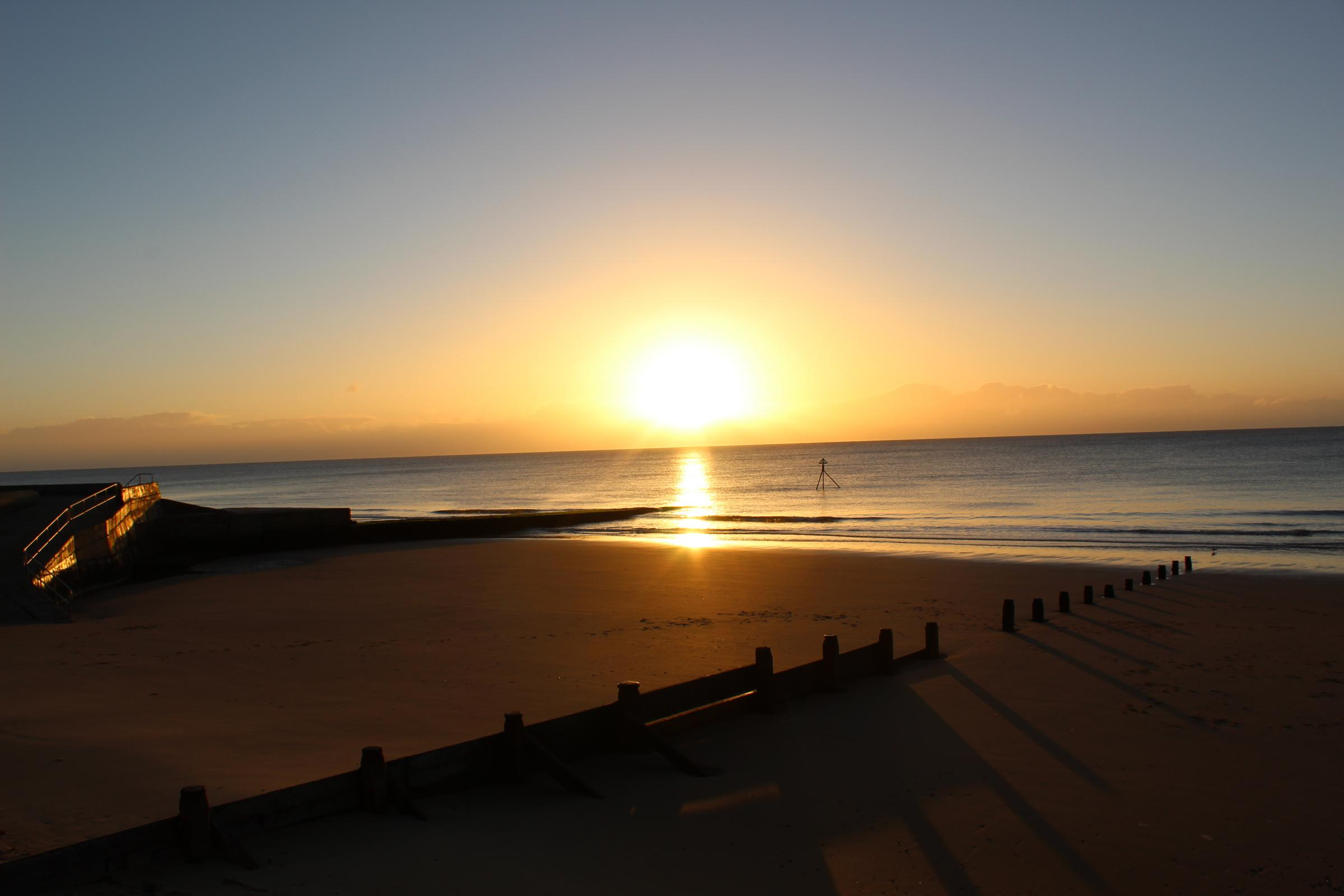 READER PICTURE: A glorious sunrise over Frinton