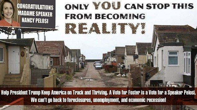 Smear - the advert sparked outrage in Jaywick, with councillors pointing to recent investment