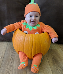 Clacton and Frinton Gazette: Little Pumpkin Pic 1 Dotty Burns