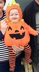 Clacton and Frinton Gazette: Little Pumpkin Pic 4 Joanie Taylor
