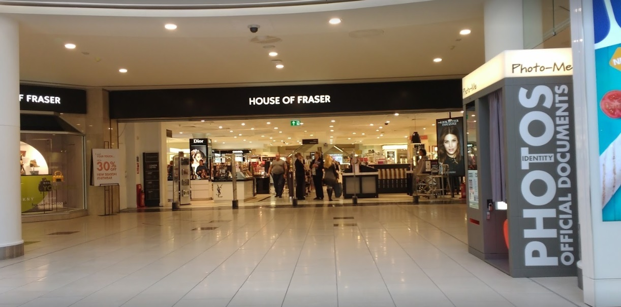 House of fraser lakeside