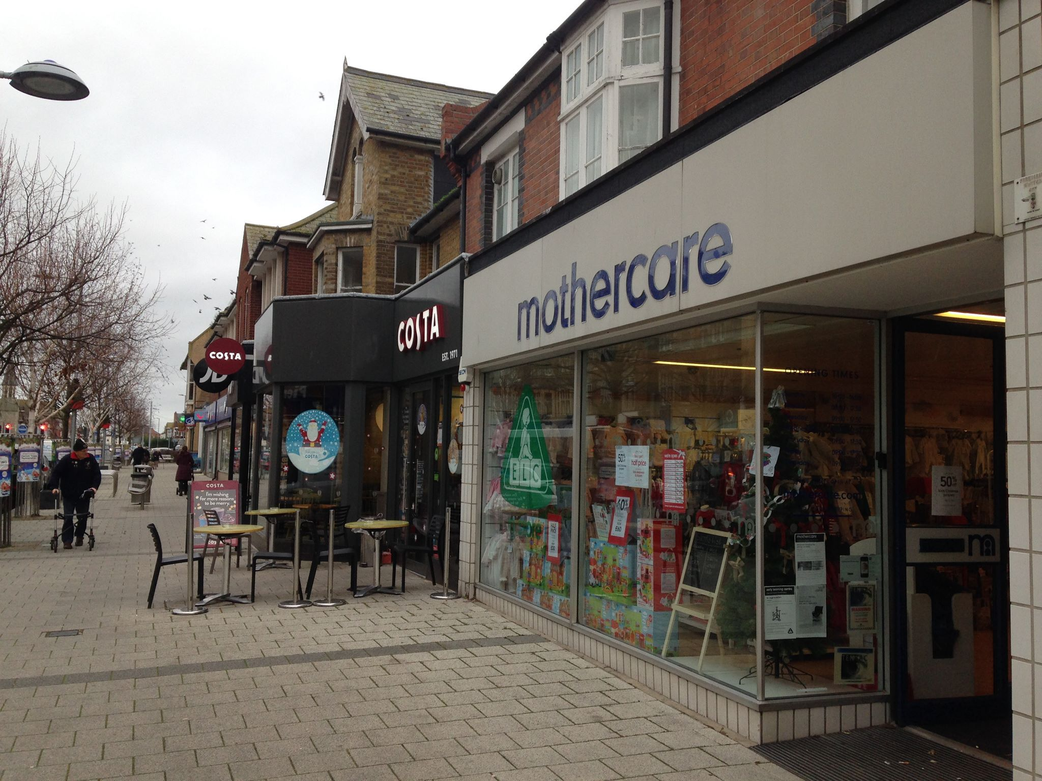 Closing down: Mothercare in Pier Avenue, Clacton
