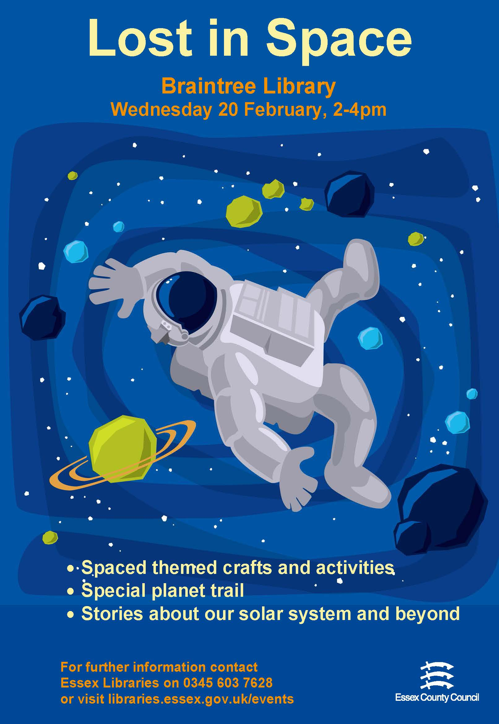 Lost in Space at Braintree Library