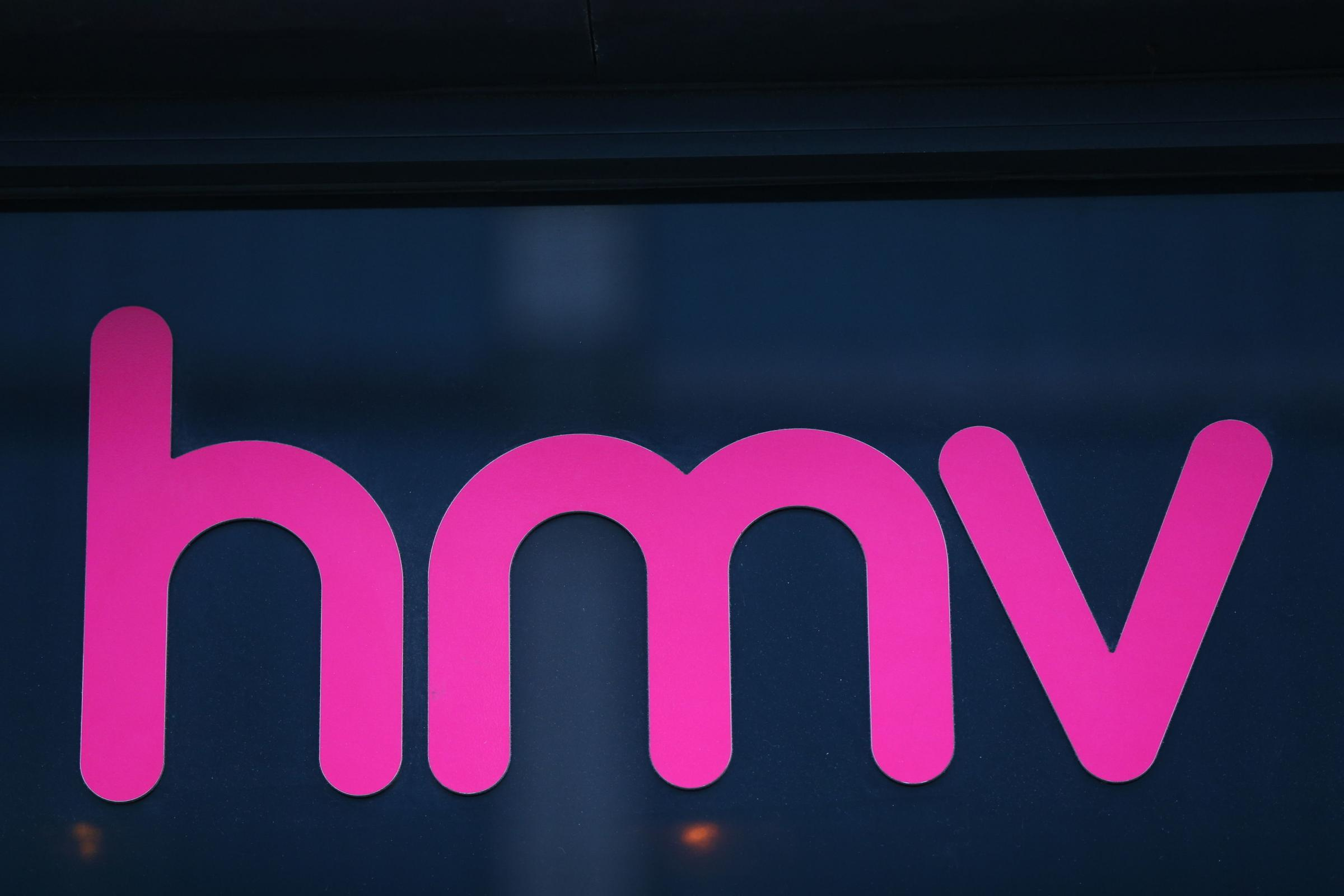 File photo dated 28/12/2018 of a sign outside a branch of HMV, which has been acquired out of administration by Canadian retailer Sunrise Records. PRESS ASSOCIATION Photo. Issue date: Tuesday February 5, 2019. See PA story CITY HMV. Photo credit should r