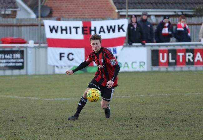 One to watch - Jordan Barnett is staying at Brightlingsea Regent Picture: Neil Payne