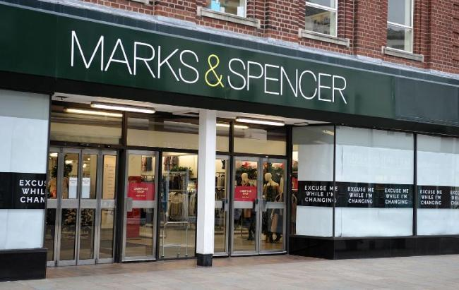 The Marks and Spencer store at Barrow