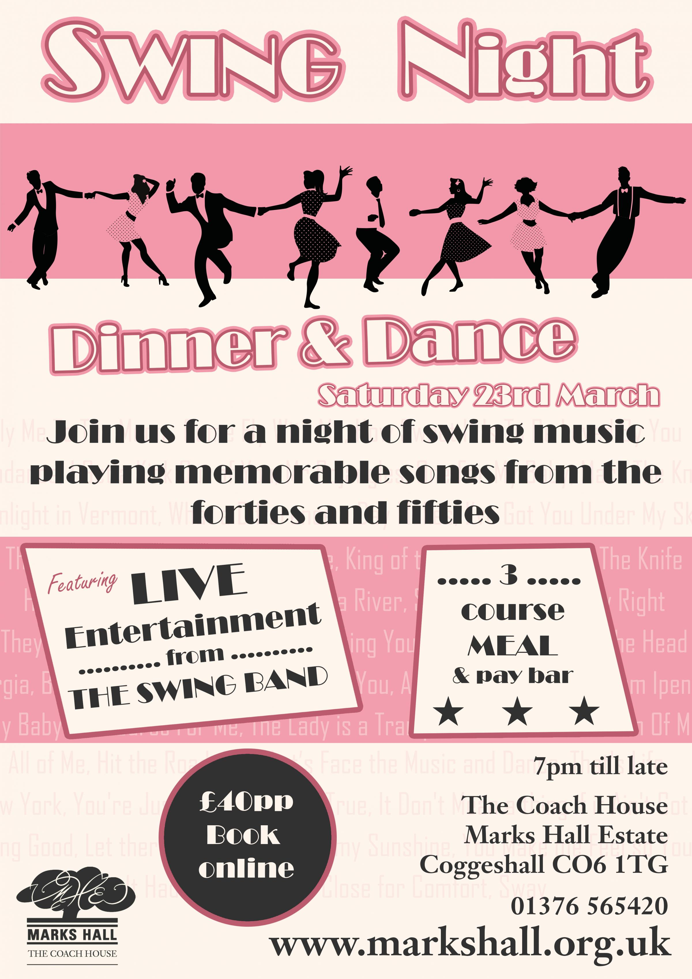 Swing Night - Dinner and Dance