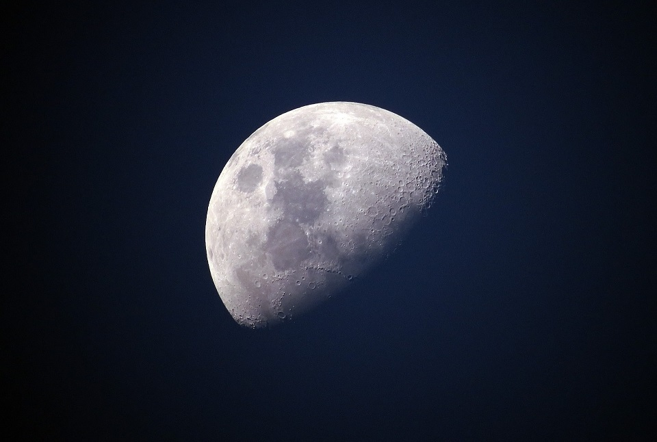 Stock picture of the moon