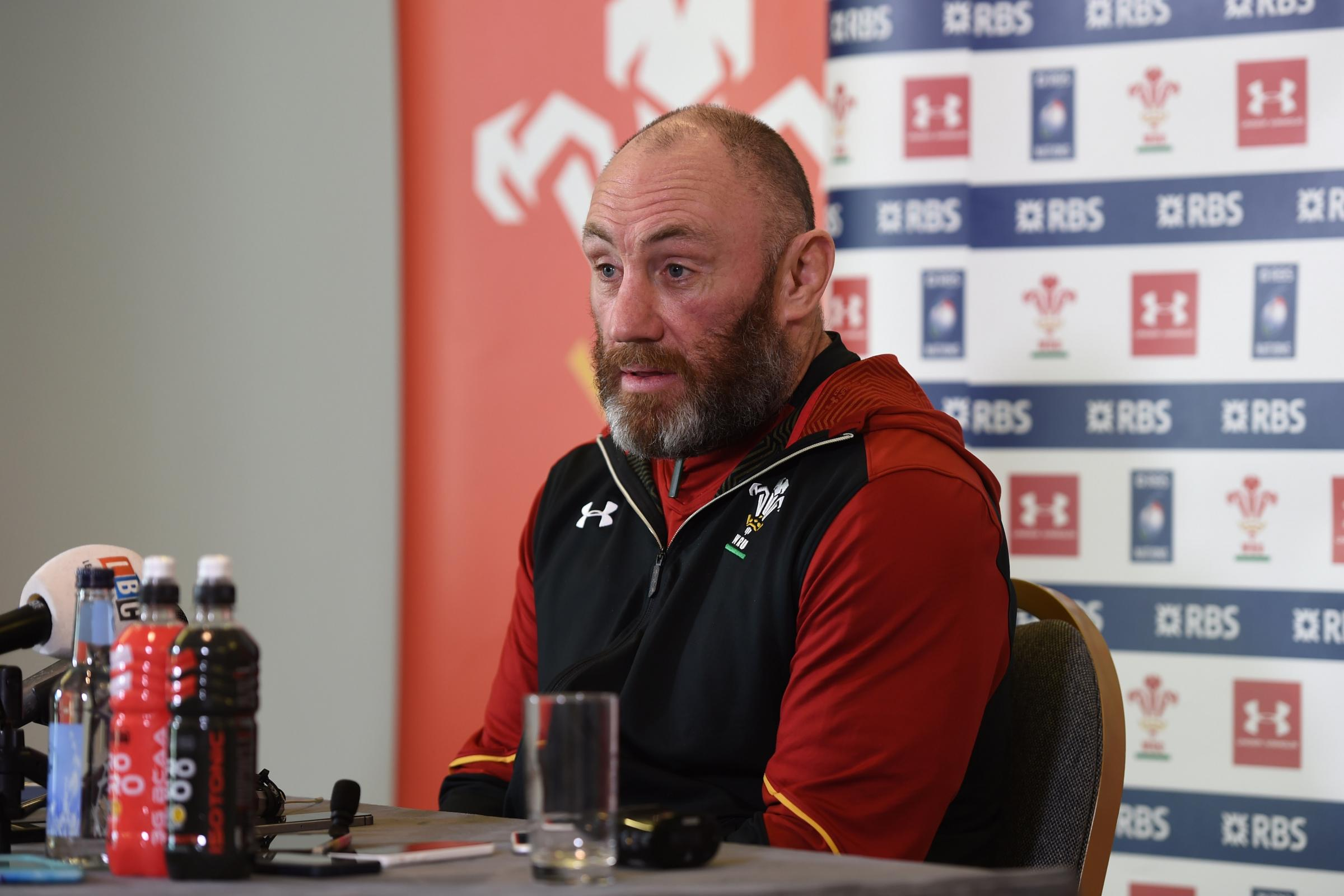 Robin McBryde wants Wales to be in inspired mood against England