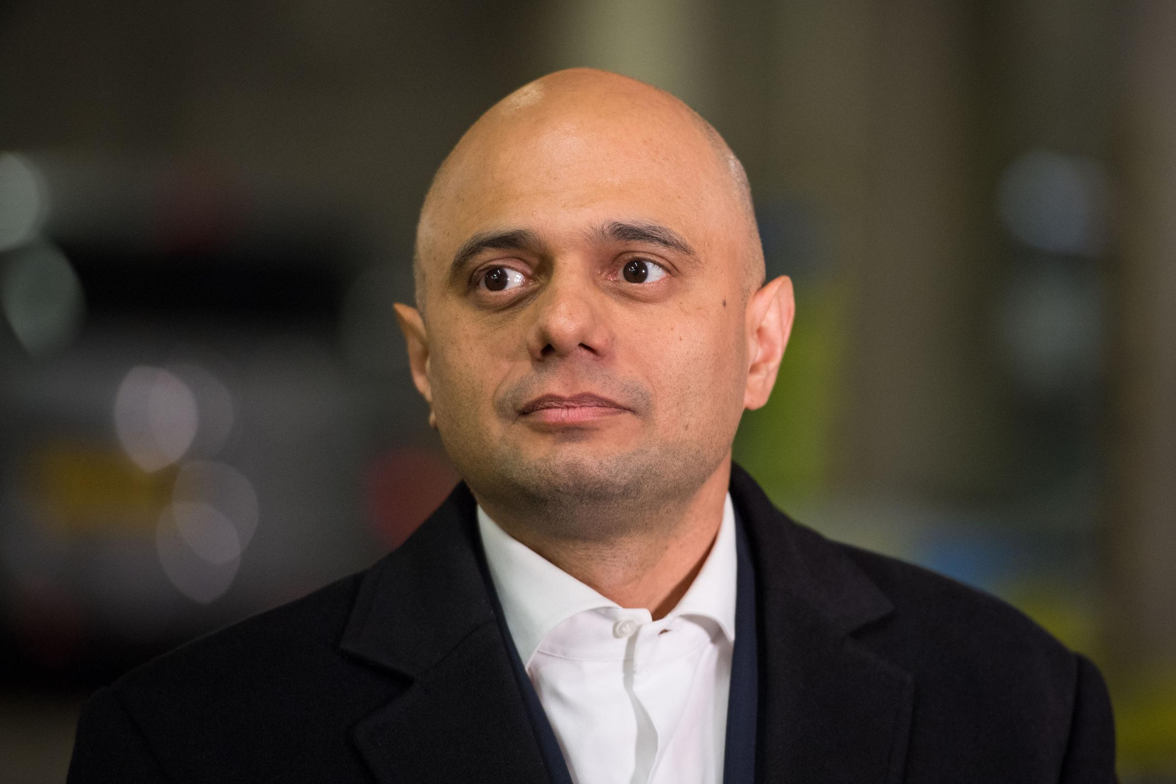 Sajid Javid on social media violence