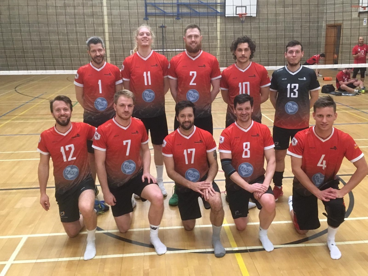Nailbiting victory: Tendring Volleyball Club are through to another National Shield final.