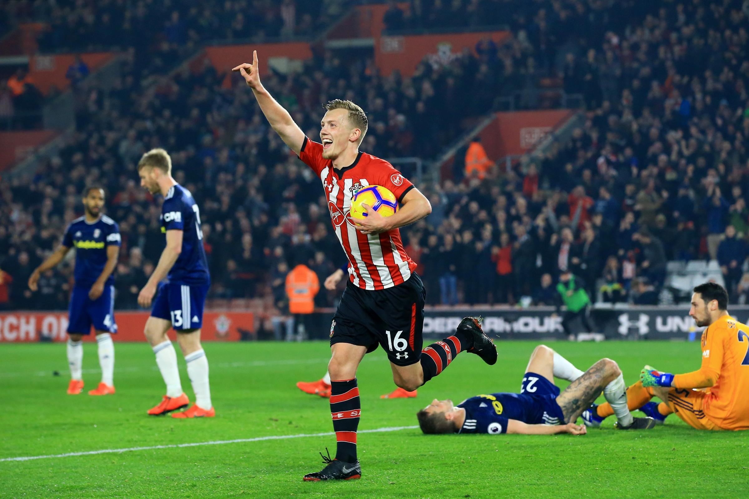 Southampton v Fulham – Premier League – St Mary's Stadium