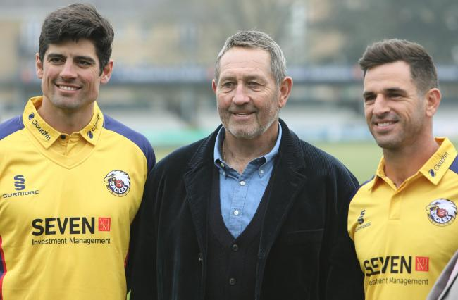 High hopes - Essex's Sir Alastair Cook, Graham Gooch and Ryan ten Doeschate