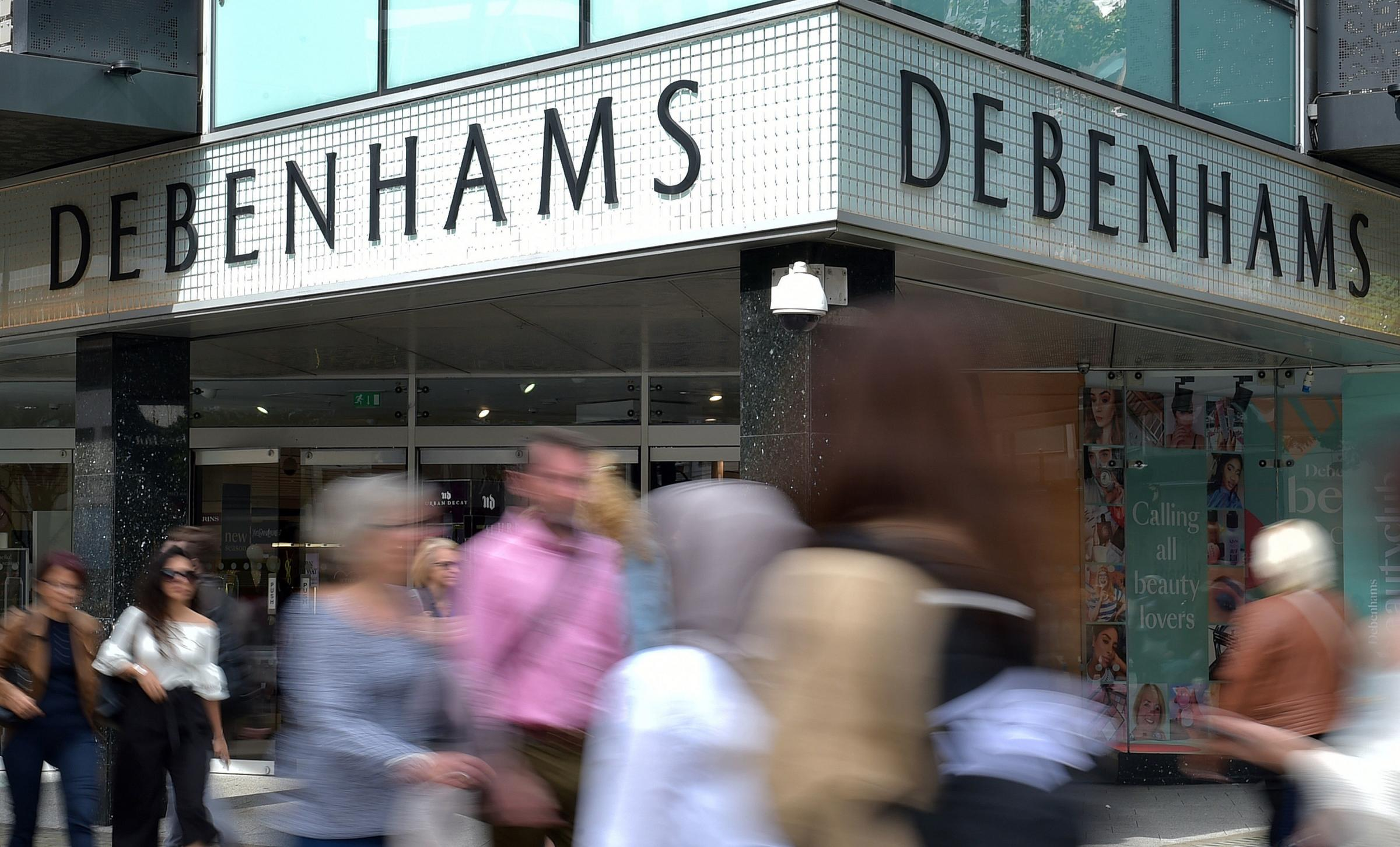 Debenhams has been placed into administration and the retailer's lenders have seized control of the company.