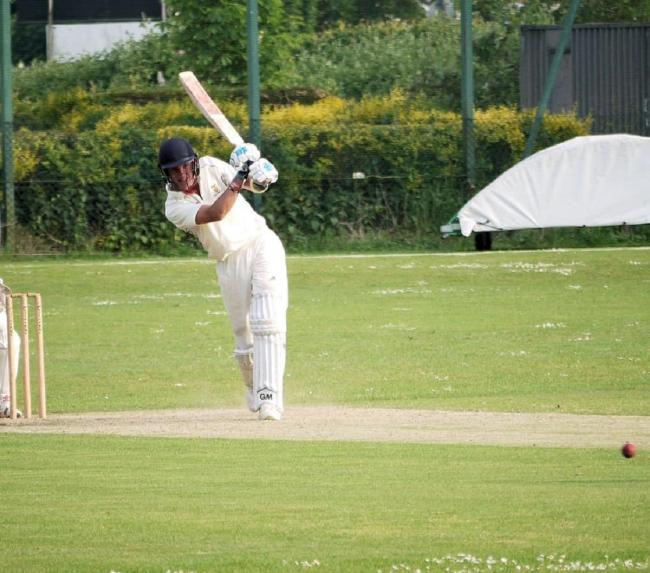 Four wickets: Clacton Cricket Club captain Harlan Greig played a starring role in Saturday's victory at Kelvedon and Feering, as did former skipper Imran Sheikh.