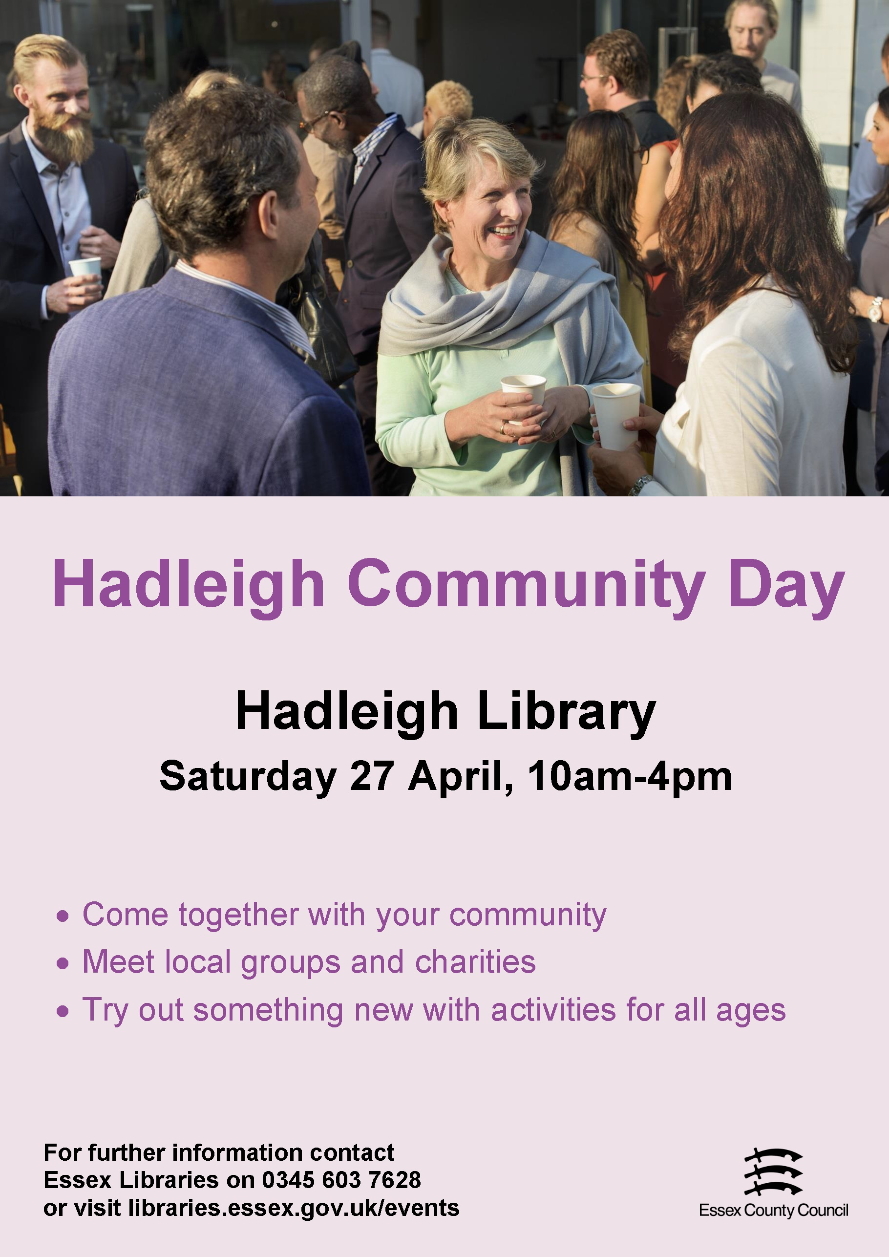 Hadleigh Library Community Day