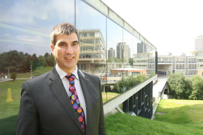 Essex University vice chancellor Anthony Forster