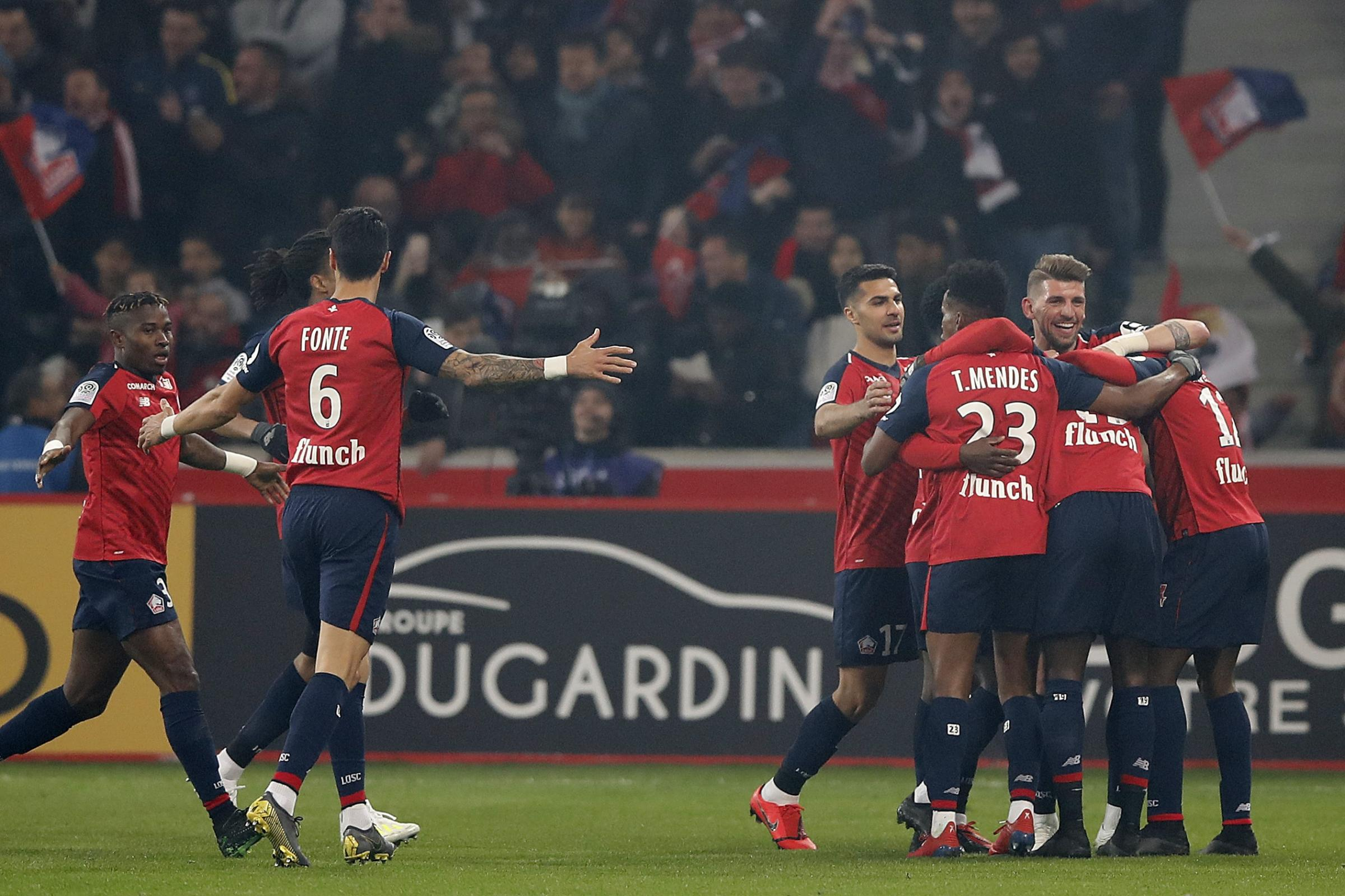 Lille produced a fine display on Sunday night