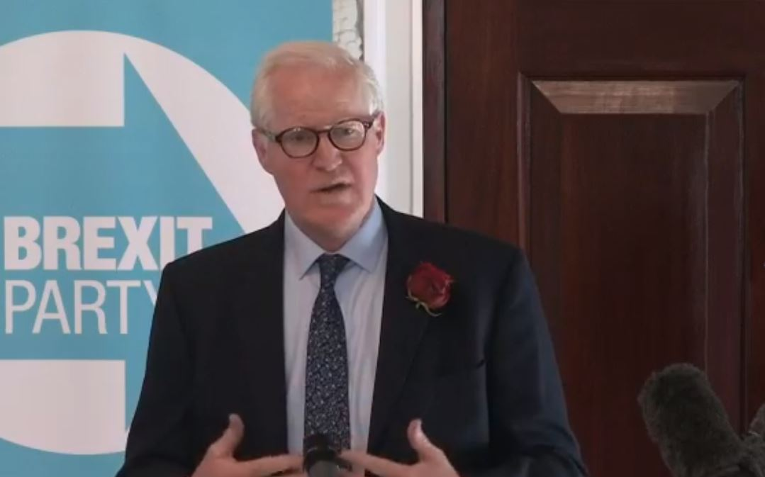 Former Tendring councillor unveiled as Brexit Party candidate