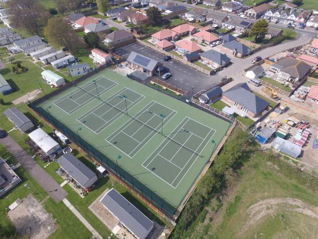 Ace - Little Clacton Tennis Club's new clubhouse and tennis courts