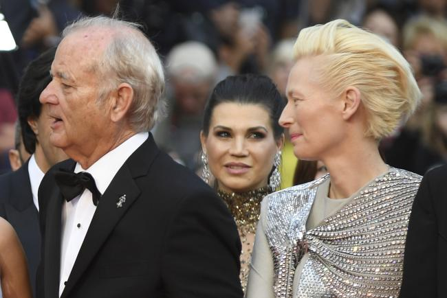 Bill Murray and Tilda Swinton